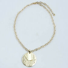 Barse Jewelry Hammered Bronze Pendant Necklace