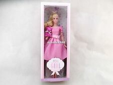 Barbie Doll It's a girl with Bear doll Mattel Collector Pink Label 12 inches