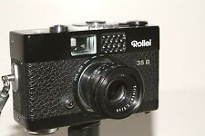 Rollei 35B camera and E19BC flash