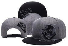 CHEAP METAL MULISHA SNAPBACK ADJUSTABLE BASEBALL CAPS HIP HOP HATS Gray #7