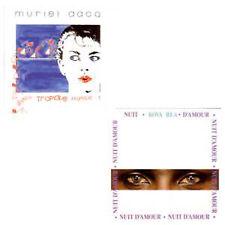 CD single DACQ Muriel Kova Rea Tropique Nuit d'amour versions maxis REMIXES