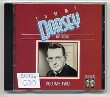 Tommy Dorsey CD The Legend Volume Vol. 2 1st press JAPAN-FOR-GERMANY - no target