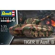 Revell 1:35 Scale (Henschel Turret) Tiger II Ausf.B Tank Military Kit - 03249