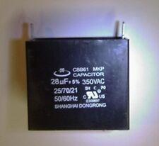 Capacitor CBB61 28uF 350VAC