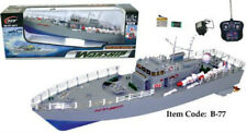 "Remote Control 19.5"" NT-2877 Warship Boat NEW Highly Detailed Battleship R/C RC"