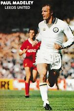 Football Photo PAUL MADELEY Leeds United 1979-80