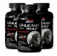 Prostate Multivitamin Pills - Unleash Your Wolf 2170mg - Tongkat Ali 200 1 3B