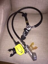 Oceanic CDX5 Scuba Diving Regulator W Sherwood Octopus Recently Serviced Exc