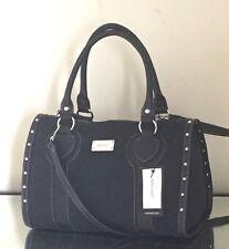 NWT Nine West Central Time Duffle Satchel Crossbody Barrel Handbag Purse $85