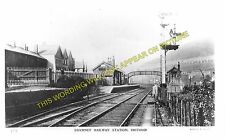Brithdir Railway Station Photo. Bargoed - Tir Phil & New Tredegar. Rhymney. (2)