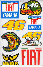 New Valentino Rossi 46 The Doctor Moto gp stickers/decals 1 sheet. (st1)