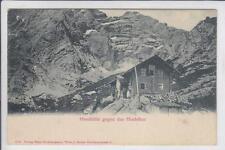AK Gstatterboden, Hesshütte mit Hochtor, 1900