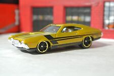 Hot Wheels '72 Grand Torino Sport - Gold - Loose 1:64 - Exclusive - Gran Torino