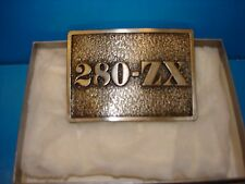 VINTAGE ORIGINAL 1979 DATSUN 280-ZX BELT BUCKLE