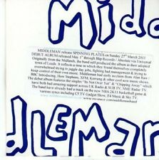 (BY287) Middleman, Spinning Plates - 2011 DJ CD