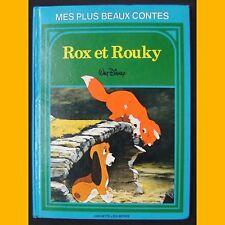 Mes Plus Beaux Contes ROX ET ROUKY Walt Disney 1985