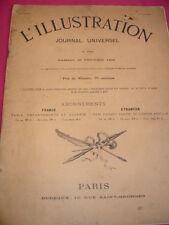L'ILLUSTRATION  25 FEVRIER 1899 Le drapeau Français en deuil