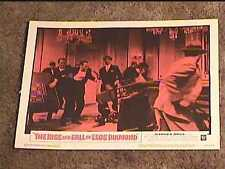 RISE AND FALL OF LEGS DIAMOND 1960 LOBBY CARD #2 CRIME
