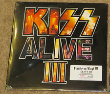 KISS ALIVE III RED VINYL PICTURE DISC LP SEALED