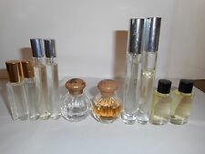 LOT OF 10 ASSORTED UNLABELED IMPERFECT PERFUMES FRAGRANCES