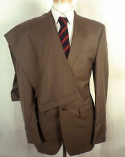 euc Chaps Ralph Lauren grayish beige Wool Cashmere Men's 2 Pc Business Suit 38 R