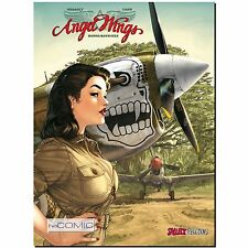 Angel Wings 1 Burma Banshees Pinup Girl Comic Fliegerstaffel Romain Hugault LP