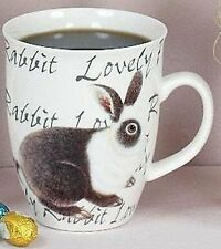 Hoff Interieur 1104 Henkelbecher Hase Grau Tasse Kaffeebecher Tee Lovely Rabbit
