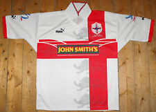 ENGLAND RUGBY LEAGUE SHIRT - World Cup '95 Rugby League Centenary '95 Men's - L