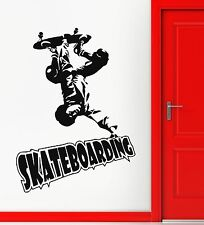 Wall Stickers Vinyl Decal Skateboarding Extreme Sports (ig588)