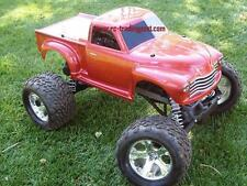 Early '50s Chevy Pickup Custom Painted 1/10 RC Monster Truck Body For Stampede