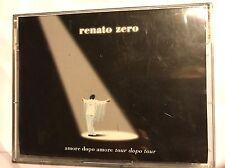 RENATO ZERO • Amore Dopo Amore Tour Dopo Tour • Doppia Cassetta Mc • FONOPOLI