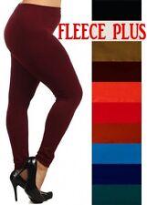 Women's Plus Size Fleece lined Fall/ Winter leggings