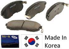 OEM Rear Ceramic Brake Pad Set With Shims For Hyundai Elantra Touring 2009-2012