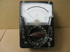 TRIPLETT model  630APL type 3 suspension METER VINTAGE ELECTRONIC TEST EQUIPMENT