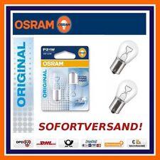 2X OSRAM Original Linea P21W 12V BAU15s LUCE FRENO MG Mini Nissan Opel
