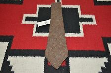 Ralph Lauren RRL Made in Italy Handmade 100% Wool Tweed Tie