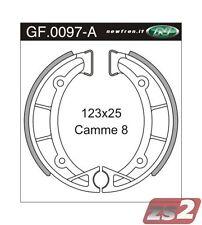 Bremsbacken NewFren Typ GF.0097 (1 Satz a 2 Stück) für Gilera Giubileo 98 / 124