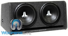 "JL AUDIO CP212-W0V3 (2) 12"" 12W0V3-4 SUBWOOFERS SPEAKERS LOADED PORTED BASS BOX"