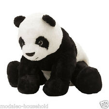 IKEA KRAMIG SOFT TOY WHITE BLACK PLUSH CUDDLY PANDA CHILD KIDS BEAR L:30cm-B111
