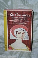 THE CONCUBINE: A Story of Anne Boleyn by Norah Lofts, Pocket PB 1964, 1st print