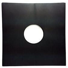 """Black Paper Record inner Sleeves (100 pack) LP Vinyl 12"""" Album 20lb. Stock 33rpm"""