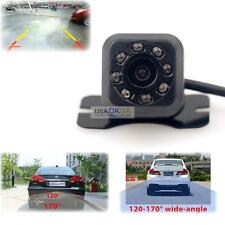 Waterproof CMOS 8 LED Night Vision Car Rear View Reverse Backup Parking Camera