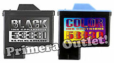Primera Bravo II 53330 Color & 53331 Black Cartridges - Combo Pack