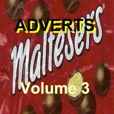 Commercials - TV Adverts Volume 3 1950's 60's 70's (NEW) (Audio CD)