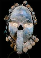 Old  Tribal Dan Deangle Mask With Real Bell     -- Coted'ivoire  BN 18