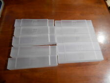 LOT OF 10 SUPER NINTENDO SNES DUST CAPS GAME CASES PROTECTORS OEM