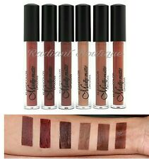 NEW 6 PCs Kleancolor Madly MATTE Lipgloss Set LIQUID LIPSTICK BROWN BUNDLE LOT