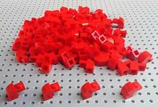 Lego Red 1x2x1.33 Brick with Curved Top (6091) x10 *BRAND NEW* City Star Wars