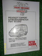 PEUGEOT EXPERT CITROEN DISPATCH (JUMPY) SCUDO MANUAL DW8 + 1.6 2.0 PETROL 1995