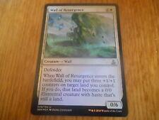 x1 Carte Magic MTG Wall Of Resurgence FOIL VO Unco (Le Serment des sentinelles)